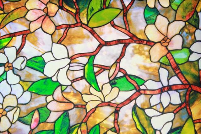 glasschilderij